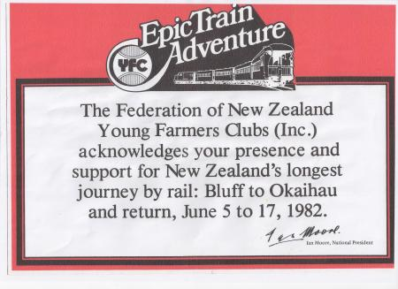 Young Farmers Advertising